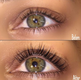 Lash LIft Before - After